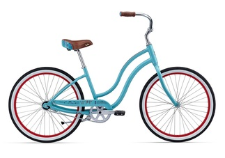 liv simple single cruiser bike women