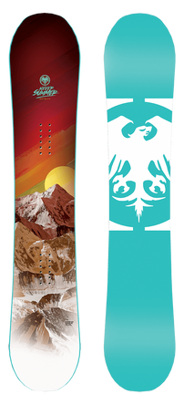 Never Summer Infinity snowboard women